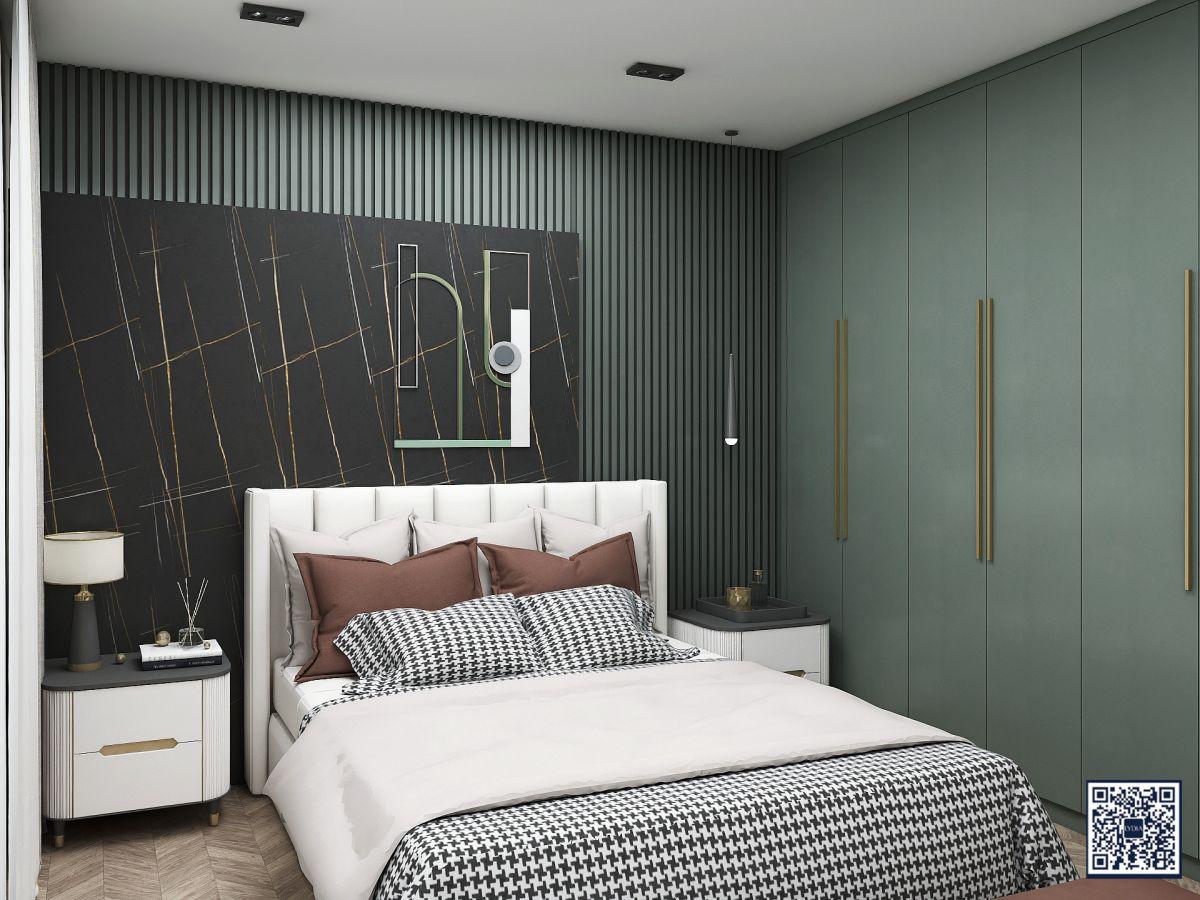卧室衣柜墙板