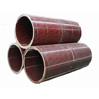 圆柱模板_圆形柱子木模板厂家直供-送货上门