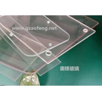厂家定做高温壁炉玻璃 烤箱专用高温玻璃