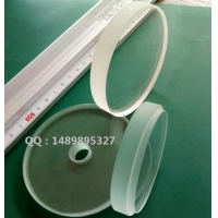 钢化高温硼硅玻璃 耐高温视镜 管道法兰压力视镜