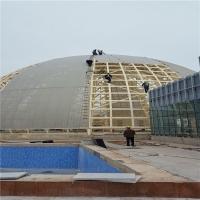 钢结构厂房屋面 65-430直立锁边铝镁锰金属屋面板