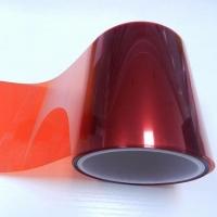 红色PET聚酯薄膜中国红双面防静电红色PET原膜