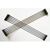 山東直銷HDPE單向拉伸塑料土工格柵路基增強單向土工格柵