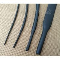 厂家产销150℃耐高温耐油柔软橡胶热缩管