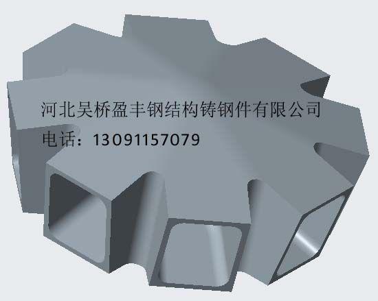 钢结构铸钢件,铸钢节点,体育场馆铸钢件