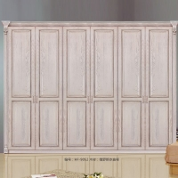 惠丰衣柜HF-9052实木衣柜现代新中式实木卧室家具