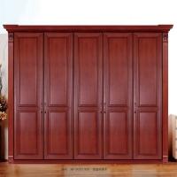 惠丰衣柜HF-9050实木衣柜现代新中老湿影院48试实木卧室家具