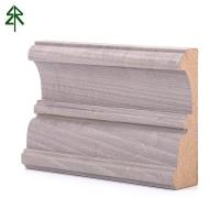 東莞中纖板染色楓木皮 實木背景裝飾木線條家裝門窗套線