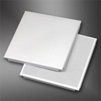 金属天花板方形天花铝制微孔天花