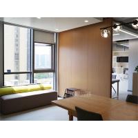 A1级防火 办公写字楼钢制复合墙板 木纹复合钢质墙板