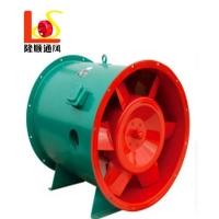 四川HTF排烟风机 地下车库高温排烟风机 3C高温排烟轴流风