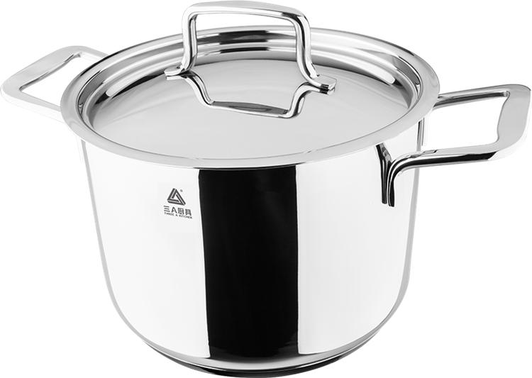 德国工艺品质三A厨具不锈钢汤锅 批发