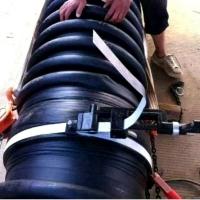 涨紧器抱箍卡箍HDPE增强缠绕B型管克拉管拉马捆绑固定管夹