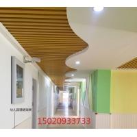 幼儿园装修材料彩色生态木浮雕板