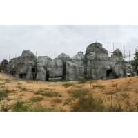 供应塑石假山,大型假山瀑布,大型溶洞制造