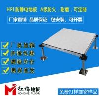 全鋼HPL黑邊防靜電地板,全鋼防靜電地板