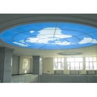 濟南軟膜天花、噴繪軟膜、卡布燈箱、展會軟膜 燈箱吊頂材料