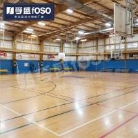 体育运动地板篮球木地板枫木柞木枫桦木专业定做