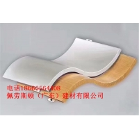 佛山佩劳斯顿建材专业提供双曲铝单板3.00mm规格可定做