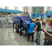 细石混凝土泵施工