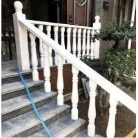西安汉白玉栏杆柱汉白玉石雕阳台柱扶手别墅庭院花园围栏扶手