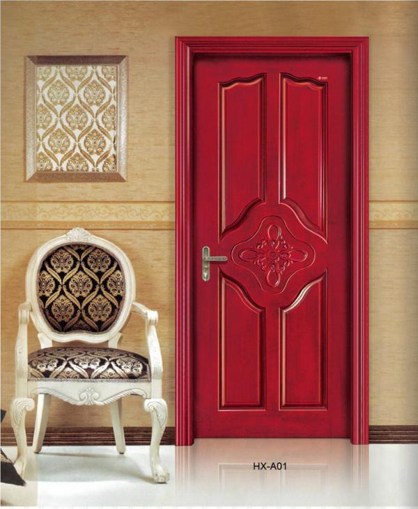 赛诺尔原木门厂家,佛山复合实木门,卧室门,室内静音门工程木门