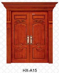 复合实木门赛诺尔室内门原木雕花门工程木门学校酒店办公楼工程