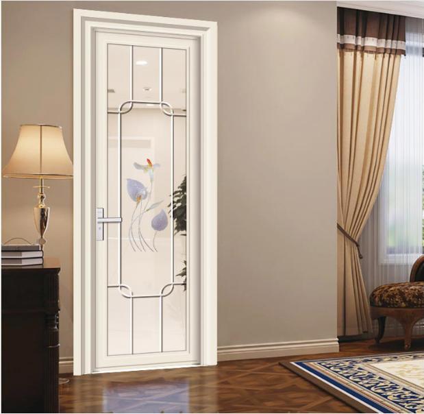 鋁合金門窗,房間門,玻璃平開門,工程門專制,賽諾爾鋁合金門窗