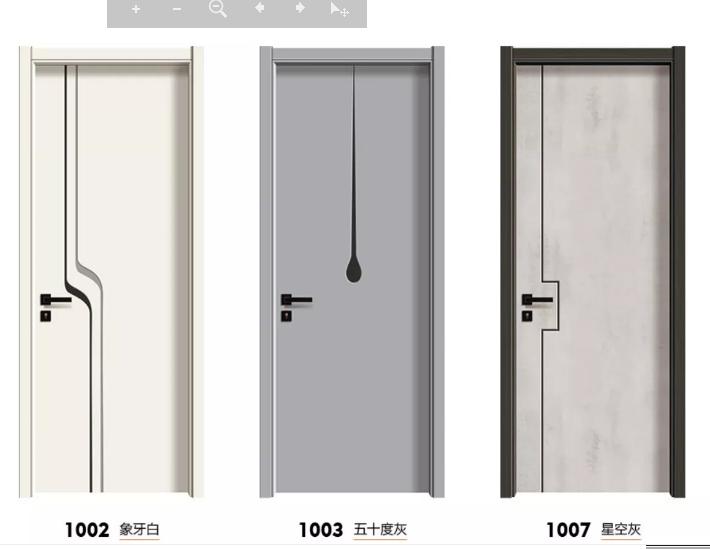 广东木门 房间门 生态强化门 夹板门 实木门 赛诺尔室内门