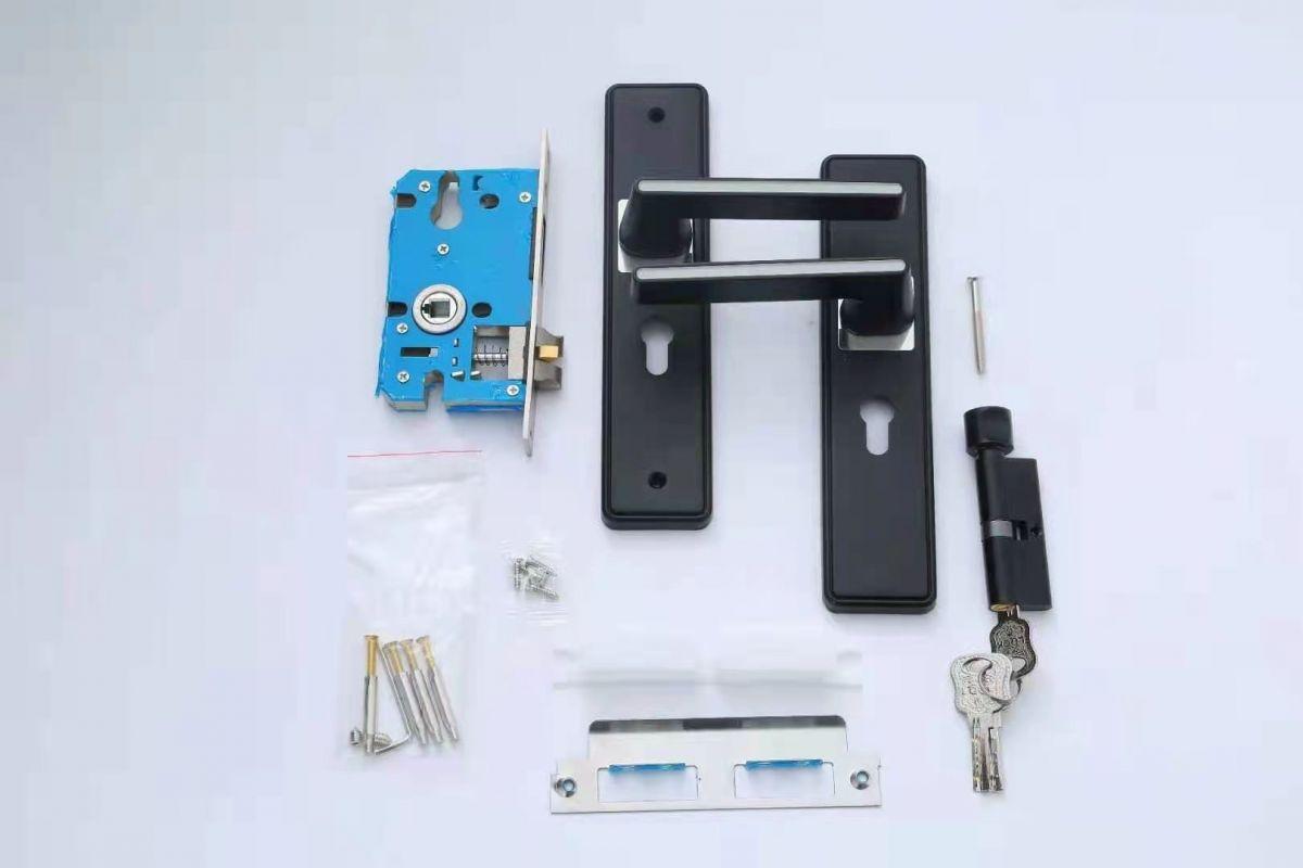 房门锁,执手机械锁,简约门锁,分体锁,豪华门锁