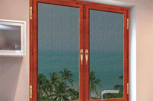 合肥派克森门窗金刚网门窗30系列金钢网平窗