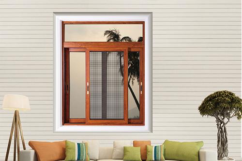 合肥派克森门窗推拉窗105系列推拉窗纱一体化