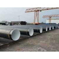 靈煊牌820防腐焊管Q235B輸水管線防腐螺旋焊管工地