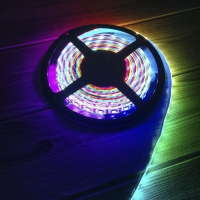 WS2812B1米60灯幻彩灯带可控可编程灯带