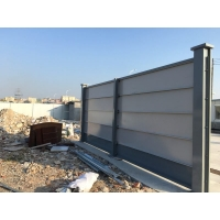 了解廣州登峰鋼結構的彩鋼圍擋板