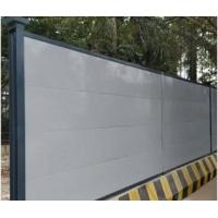 广州州登峰A1款钢板围墙围挡的使用
