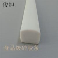 发泡耐高温密封条硅胶发泡条白色