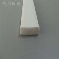 耐高温海绵发泡平板 发泡密封平板条 规格报价