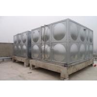 广西304不锈钢水箱消防水塔工程方形水箱专业现场安装