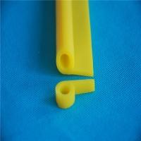 黄色硅胶P型耐磨损密封条