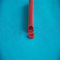 硅胶e型密封条 E型硅橡胶密封条 蒸箱烤箱密封条
