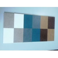 6mm厚实心皮革护墙板沙发电视背景墙快装墙板