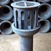 辽宁矩形铸铁泄水管加工成品图