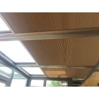 电动蜂巢帘 手动阳光房顶棚 隔热 隔音 防紫外线窗帘 定制蜂