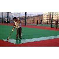 聚氨酯地坪漆、丙烯酸地坪漆、硅pu篮球场地坪施工