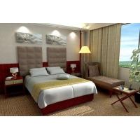 酒店宾馆客房床