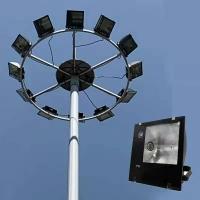 led高杆灯|广场灯|15米20米|户外中杆灯|升降高杆灯