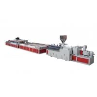 合塑WPC木塑地板生產線