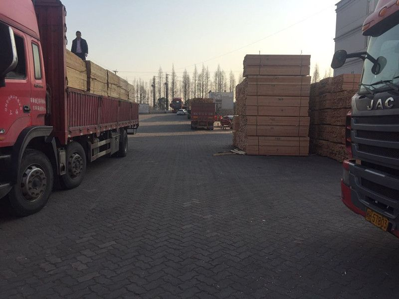落叶松建筑木方板材 木方加工