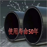 PVC-U双层轴向中空壁管-重庆渝陆东